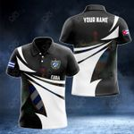 Customize Cuba Coat Of Arms New Style 3D Print All Over Print Polo Shirt