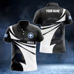 Customize Greece Coat Of Arms New Style 3D Print All Over Print Polo Shirt