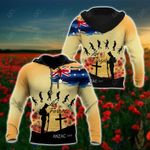 Anzac Day Lest We Forget All Over Print Hoodies