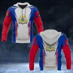 Cambodia Coat Of Arms - Flag 3D All Over Print Hoodies