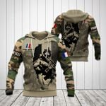 Customize French Army Camo Soldier All Over Print Hoodies