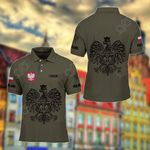 Customize Poland Coat Of Arms Polo Shirt