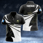 Customize Guatemala Coat Of Arms New Style 3D Print All Over Print Polo Shirt