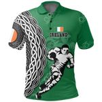 Irish Rugby Celtic All Over Print Polo Shirt
