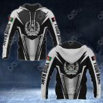 Customize Afghanistan Coat Of Arms And Flag V2 Print All Over Print Hoodies