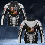 Customize Czech Republic Coat Of Arms And Flag V2 Print All Over Print Hoodies