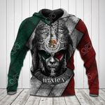 Mexico Warrior 3D All Over Print Shirts