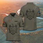 Customize Moldova Coat Of Arms Polo Shirt