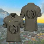 Customize Guatemala Coat Of Arms Polo Shirt