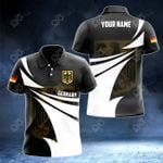 Customize Germany Coat Of Arms New Style 3D Print All Over Print Polo Shirt