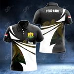 Customize Syria Coat Of Arms New Style 3D Print All Over Print Polo Shirt