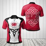 Welsh Dragon All Over Print Polo Shirt