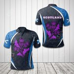 Scottish Spirit All Over Print Polo Shirt