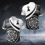 Brittany Celtic Patterns All Over Print Polo Shirt