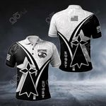 Brittany Rugby All Over Print Polo Shirt