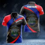 Customize Costa Rica Proud Version All Over Print Polo Shirt