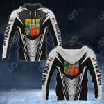 Customize Basque Coat Of Arms And Flag V2 Print All Over Print Hoodies