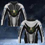 Customize Guatemala Coat Of Arms And Flag V2 Print All Over Print Hoodies