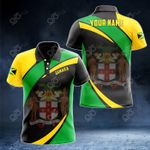 Customize Jamaica Proud Version All Over Print Polo Shirt