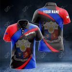 Customize Philippines Proud Version All Over Print Polo Shirt