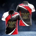 Customize Yemen Proud Version All Over Print Polo Shirt