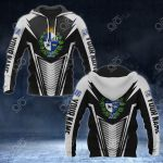 Customize Uruguay Coat Of Arms And Flag V2 Print All Over Print Hoodies