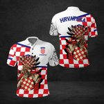 Croatian Tattoo All Over Print Polo Shirt