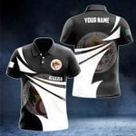 Customize Algeria Coat Of Arms New Style 3D Print All Over Print Polo Shirt