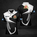 Customize Aberdeen Coat Of Arms All Over Print Polo Shirt