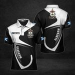 Customize Glasgow Coat Of Arms All Over Print Polo Shirt
