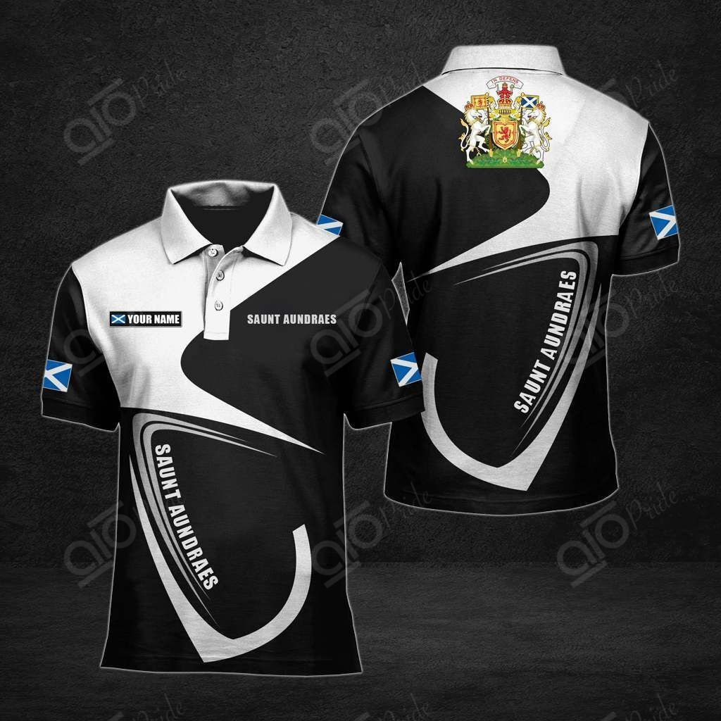 Customize St Andrews All Over Print Polo Shirt