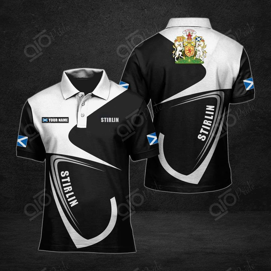 Customize Stirling All Over Print Polo Shirt