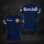Scotland Flag 1991 All Over Print T-shirt