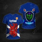 Scotland In My Heart All Over Print T-shirt