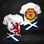 Scotland Lion Thistle Rampant All Over Print T-shirt