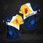 Scotland Royal Flag Lion All Over Print T-shirt