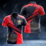 Australia Proud With Coat Of Arms All Over Print Polo Shirt