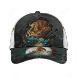 Mexico Coat Of Arms 3D All Over Print Cap