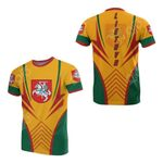 (Lietuva)Lithuania Coat Of Arms Flag All Over Print T-shirt