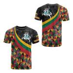 Lithuania Flag Color All Over Print T-shirt