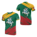 Lithuania Flag All Over Print T-shirt