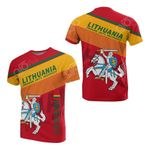 Lithuania - Freedom, Unity, Prosperity All Over Print T-shirt