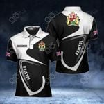 Customize Bristol Coat Of Arms All Over Print Polo Shirt