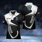 Customize Chester Coat Of Arms All Over Print Polo Shirt