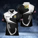 Customize Derby Coat Of Arms All Over Print Polo Shirt