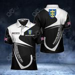 Customize Kingston upon Hull Coat Of Arms All Over Print Polo Shirt