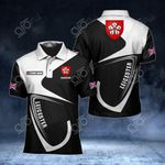 Customize Leicester Coat Of Arms All Over Print Polo Shirt