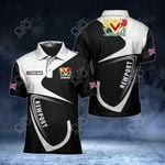 Customize Newport Coat Of Arms All Over Print Polo Shirt
