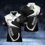 Customize Oxford Coat Of Arms All Over Print Polo Shirt