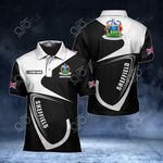 Customize Sheffield Coat Of Arms All Over Print Polo Shirt